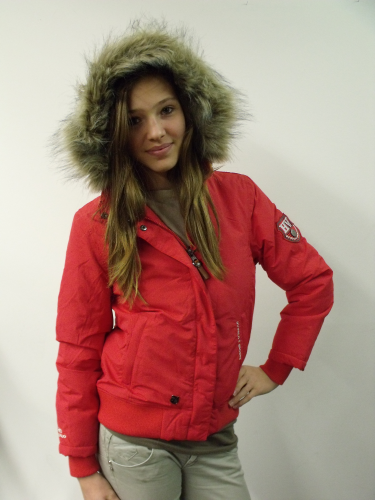 Ladies Jacket Marisol HV Polo Scarlet-rot S